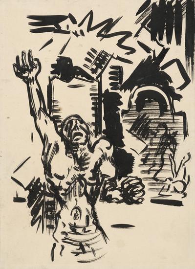 Arnold Peter Weisz-Kubínčan:Protest 1943-1944, zdroj: SNG